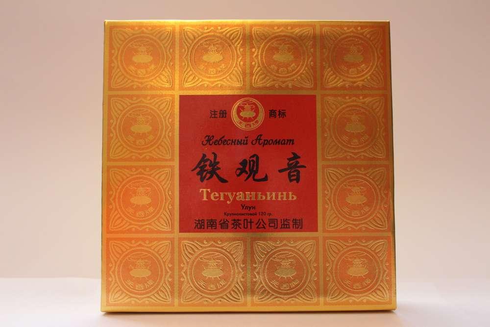чай тегуаньинь черный дракон